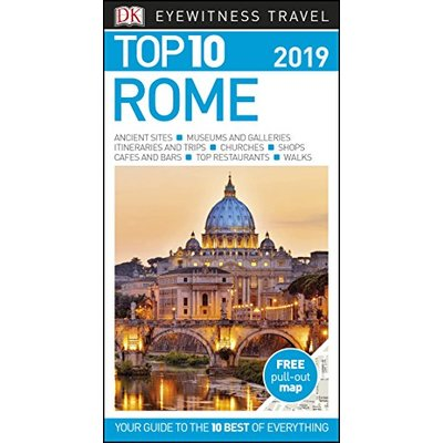 Top 10 Rome: 2019 (DK Eyewitness Travel Guide), Very Good Condition Book, DK Tra