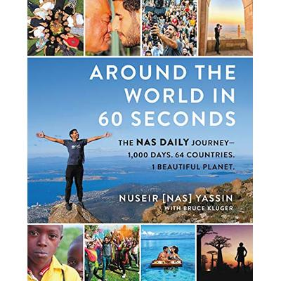 Around the World in 60 Seconds: The Nas Daily Journey-1,000 Days. #29329 U