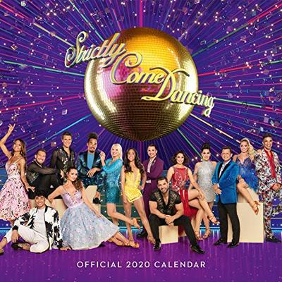 Strictly Come Dancing 2020 Calendar – Official Square Wall Format Calendar