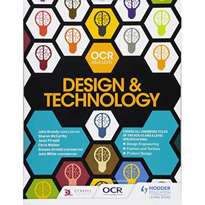 OCR AS/A Level Design and Technology 2017: OCR design and technology for AS/A