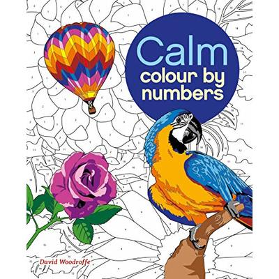 Calm Colour by Numbers (Arcturus Colour by Numbers Collection)