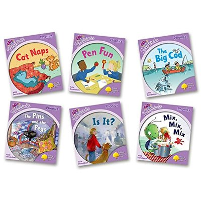 Oxford Reading Tree: Level 1+: More Songbirds Phonics: Pack (6 books, 1 of