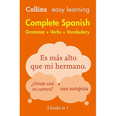 Easy Learning Spanish Complete Grammar, Verbs and Vocabulary (3 books in 1)…