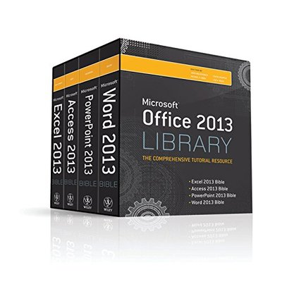Office 2013 Library Excel 2013 Bible, Access 2013 Bible, PowerPoint 2013…