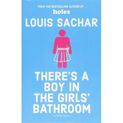 There's a boy in the girls' bathroom by Louis Sachar (Paperback) Amazing Value