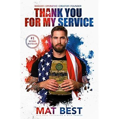 Thank You for My Service by Best, Mat Book The Cheap Fast Free Post