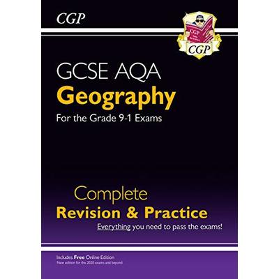 GCSE 9-1 Geography AQA Complete Revision & Practice (w/ Online Ed) – for 2021 exams & beyond: unbeatable revision for mocks and exams in 2021 and 2022 (CGP GCSE Geography 9-1 Revision)
