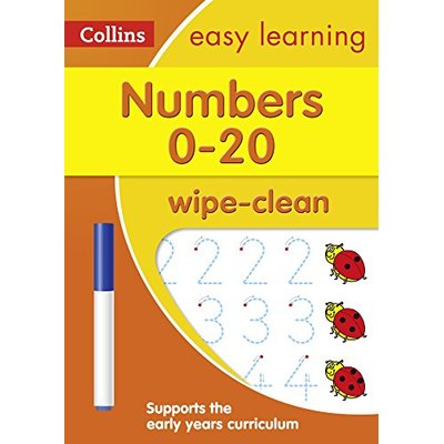 Numbers 0-20 Age 3-5 Wipe Clean Activity Book: Prepare for Preschool with easy h
