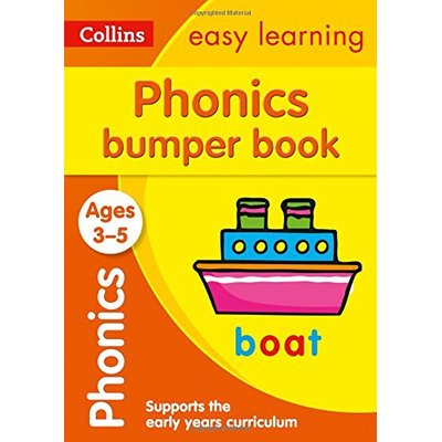 Phonics Bumper Book Ages 3-5: Prepare for Preschool with easy home learning (Collins Easy Learning Preschool)