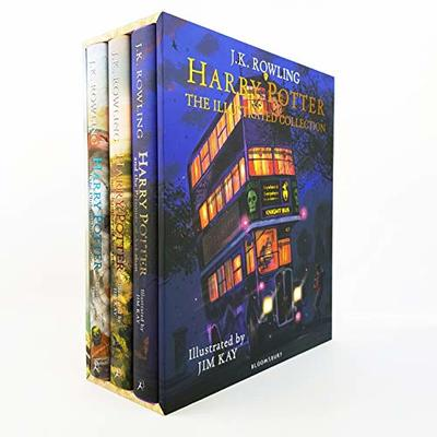 Harry Potter – the Illustrated Collection (3 Books): Three Magical Classics by J