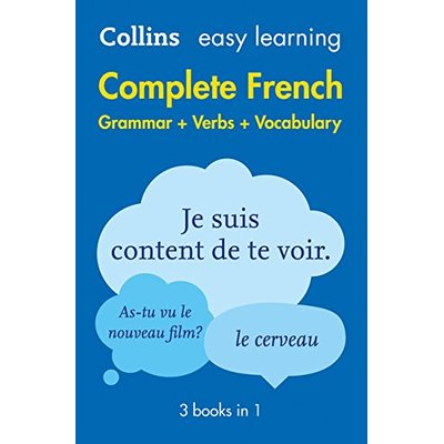 Easy Learning French Complete Grammar, Verbs and Voca… by Collins Dictionaries