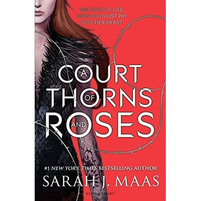 A Court of Thorns and Roses by Sarah J. Maas (Paperback, 2015) First edition