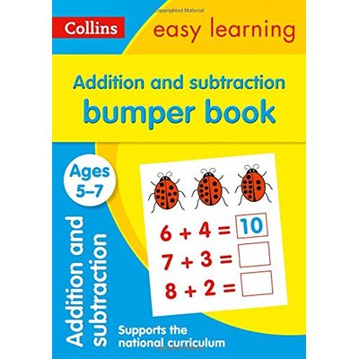 Addition and Subtraction Bumper Book Ages 5-7: Prepare for school with easy home learning (Collins Easy Learning KS1)