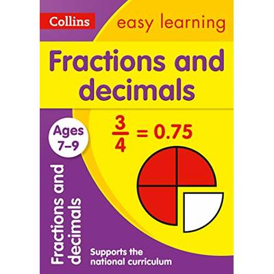 Fractions and Decimals Ages 7-9: Ideal for home learning (Collins Easy Learning KS2)