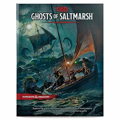 Wizards of the Coast Dungeons & Dragons Ghosts of Saltmarsh Hardcover Book (D&D Adventure)