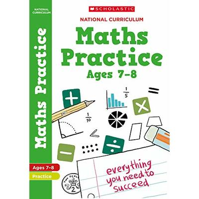 100 Maths Practice Activities for children ages 7-8 (Year 3). Perfect for Home Learning. (100 Practice Activities)