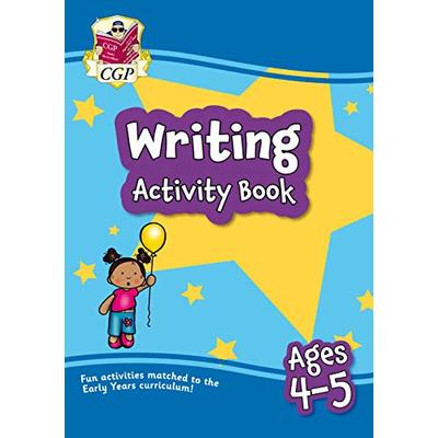 New Writing Activity Book for Ages 4-5: superb for catch-up and learning at home (CGP Home Learning)