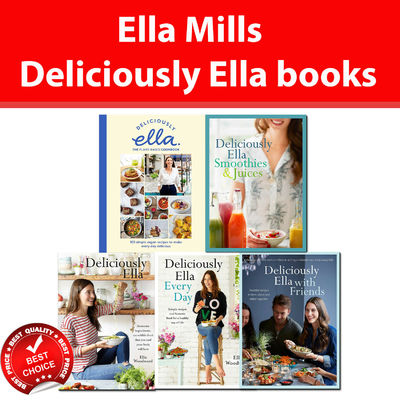 Ella Mills Woodward Deliciously Ella collection books set Plant-Based Cookbook