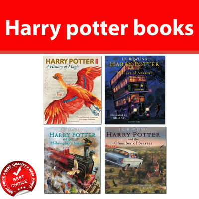 Harry Potter Illustrated Edition by J.K.Rowling Young Adult Fantasy books NEW
