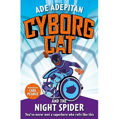 Cyborg Cat and the Night Spider