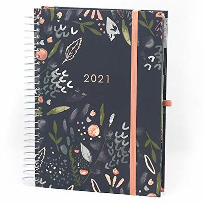 Boxclever Press Life Book Academic Diary 2020-2021. Stunning A5 Weekly Planner with Perforated Lists, Planning Pages & Paperwork Pockets. Mid Year Diary 2020-2021 Runs mid-August '20 – December '21