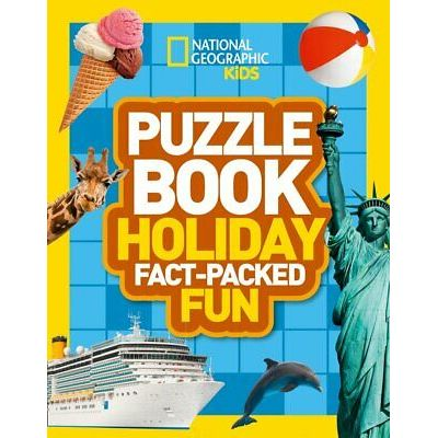 Puzzle Book Holiday: Brain-tickling quizzes, sudokus, crosswords and wordsearche