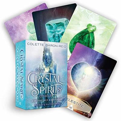 The Crystal Spirits Oracle: A 58-Card Deck and Guidebook