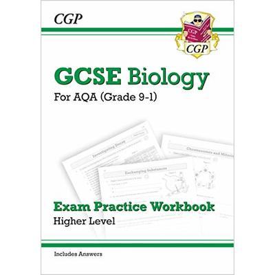 Grade 9-1 GCSE Biology: AQA Exam Practice Workbook (with answers) – Higher: perfect revision for mocks and exams in 2021 and 2022 (CGP GCSE Biology 9-1 Revision)