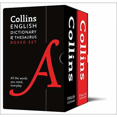 English Dictionary and Thesaurus Boxed Set: All the words you need, every day (Collins Dictionaries)