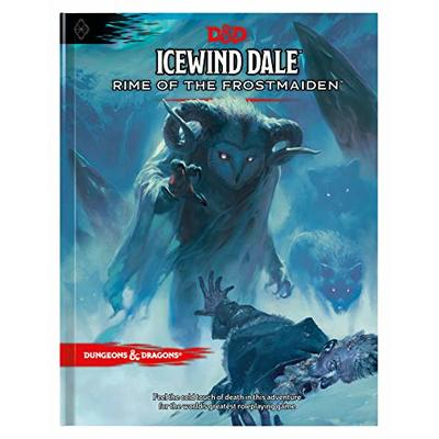 Dungeons & Dragons Icewind Dale: Rime of the Frostmaiden Adventure Book