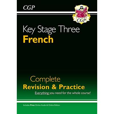 KS3 French Complete Revision & Practice with Audio CD (CGP KS3 Languages)