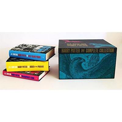 Harry Potter Adult Hardback Box Set: Contains: Philosopher's Stone / Chamber of Secrets / Prisoner of Azkaban / Goblet of Fire / Order of the Phoenix / Half-Blood Prince / Deathly Hollows