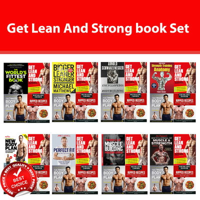 Get Lean And Strong books Set World's Fittest New Body Plan Perfect Fit Strength
