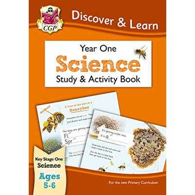 KS1 Discover & Learn: Science – Study & Activity Book, Year 1: perfect for catch-up and home learning (CGP KS1 Science)