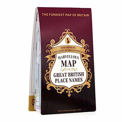 ST&G's Marvellous Map of Great British Place Names (Marvellous Maps)