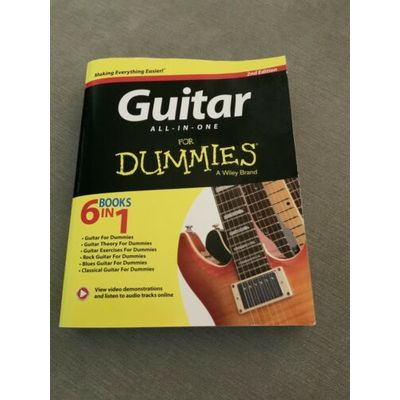 Guitar All-In-One for Dummies: Book + Online Video & Audio Instruction, 2nd…